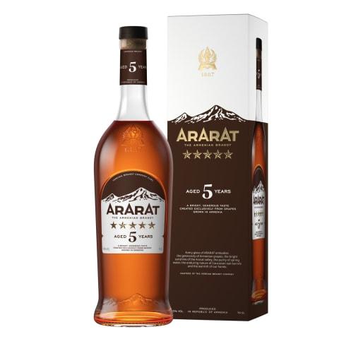 Brendijs Ararat 5* 40% 0,7l