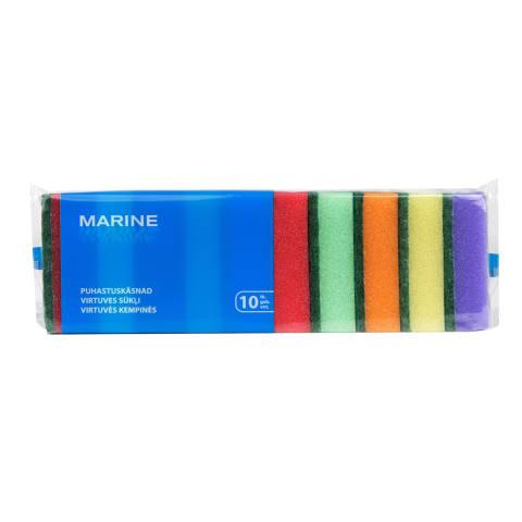 Kempinės MARINE 10 vnt 2,5x8x5cm