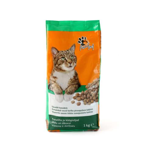 Kaķu barība Purrrfect Nutribalance vistas 1kg