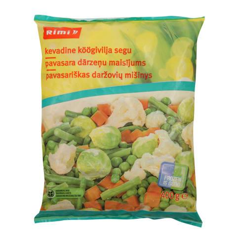 Pavasara dārzeņu maisījums 400g