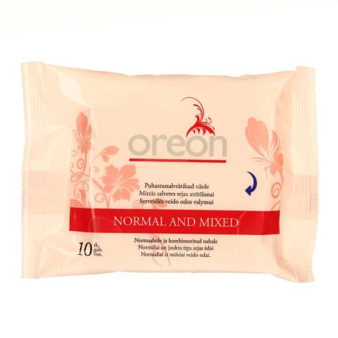 Puhastussalvrätik näole Oreon norm.10tk