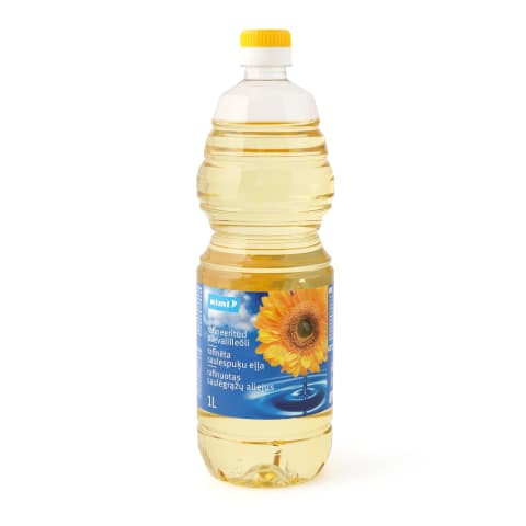 Saulespuķu eļļa Rimi 1l