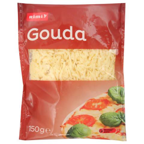 Tarkuotas sūris RIMI GOUDA, 48 % rieb., 150 g
