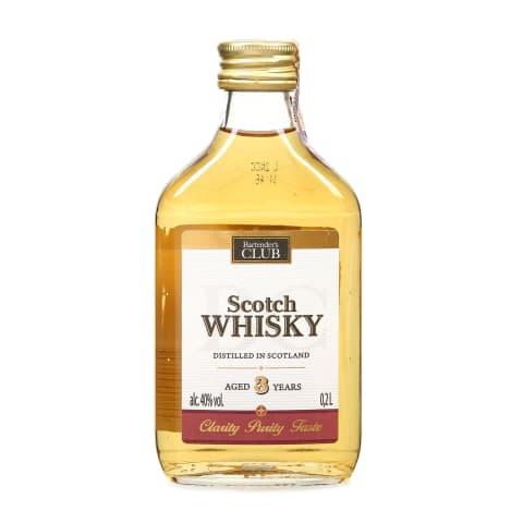Viskijs Bartender's Club Scotch 40% 0,2l