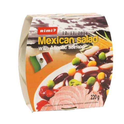 Meksik. salotos su atlant.lašiša, RIMI, 220g