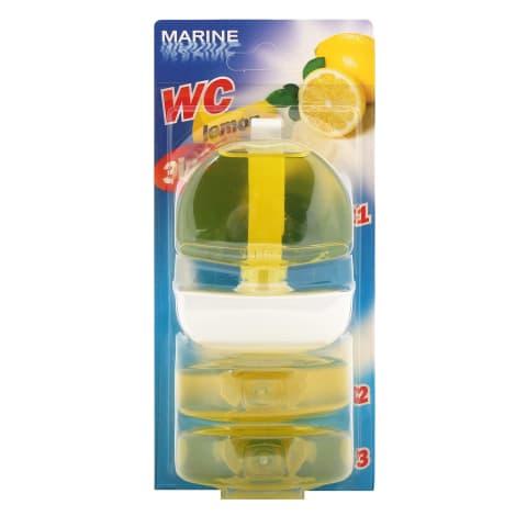 Tual. bloks Marine ar citronu aromātu 3x55ml