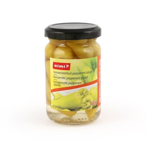 Konservēti pepperoni pipari Rimi 110g/50g