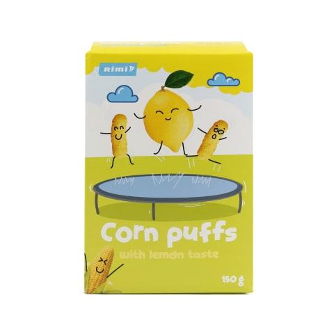 Kukurūzas nūjiņas Rimi ar citrona garšu 150g