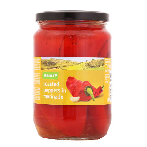 Paprika marinaadis röstitud Rimi 670g/395g