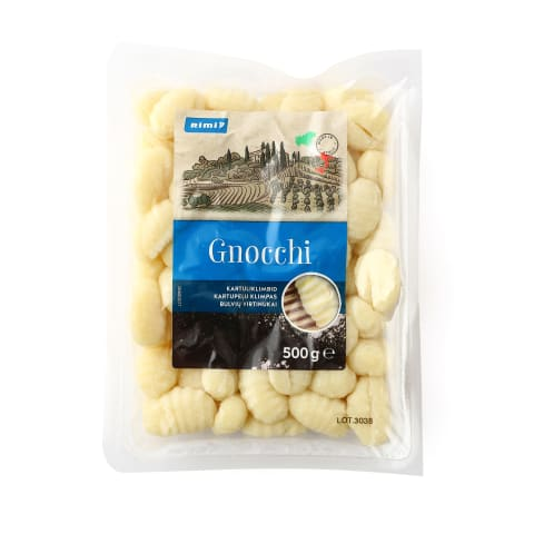Bulvių virtiniai RIMI Gnocchi, 500g