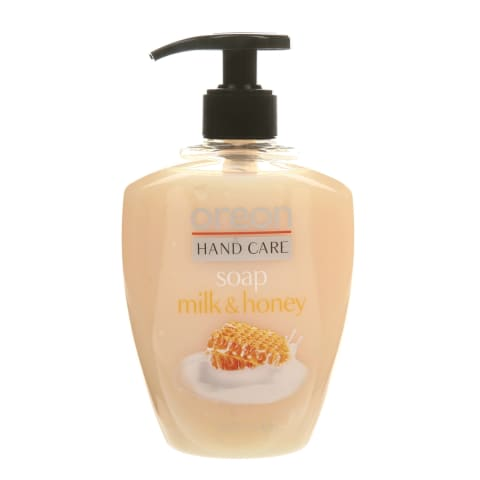 Skyst. muilas rankoms OREON MILK&HONEY, 500ml