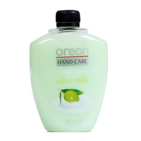 Šķidrās ziepes Oreon Milk&Olive uzp. 500ml