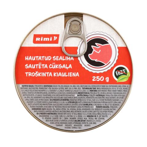 Troškinta kiauliena RIMI, 250g