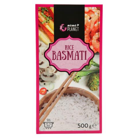 Basmati ryžiai RIMI PLANET, 500 g
