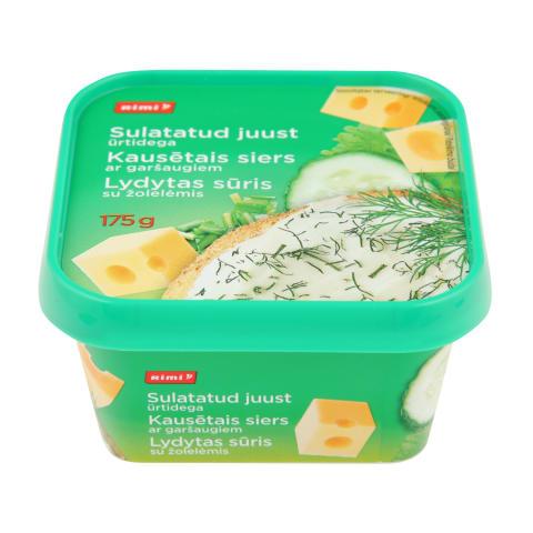 Kaus. siers Rimi ar zaļumiem 175g