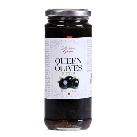 Mustad oliivid Selection kivideta 345g/160g