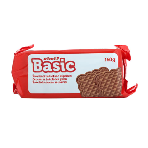 Cepumi Rimi Basic ar šokolādes garšu 160g