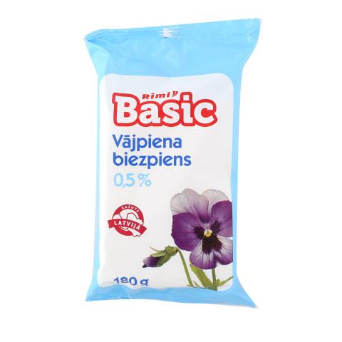 Biezpiens Rimi Basic 0,5% 180g