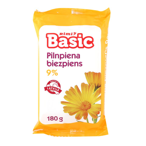 Biezpiens Rimi Basic 9% 180g
