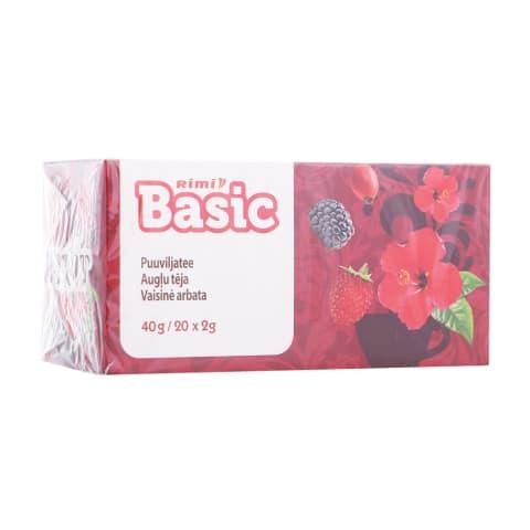 Augļu tēja Rimi Basic 20x2g