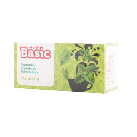 Piparmētru tēja Rimi Basic 30g