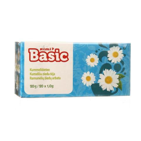 Ramunėlių žiedų arbata RIMI BASIC, 20g