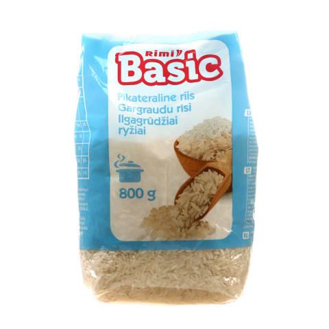 Ilgagrūdžiai ryžiai RIMI BASIC, 800g