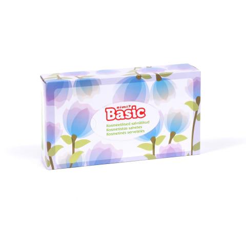 Kosmetin. servetėles RIMI BASIC, 2sl., 80vnt.