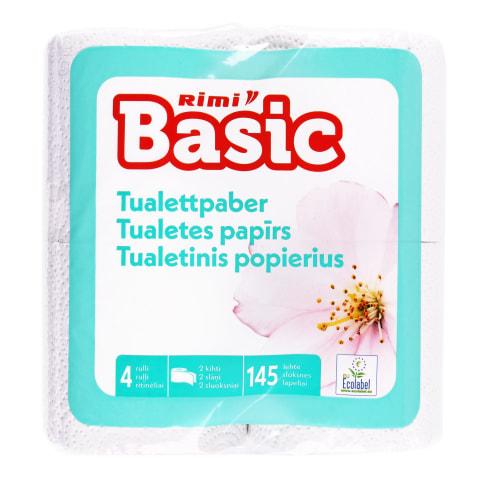 Tualetinis popierius RIMI BASIC, 2sl.,4rit.