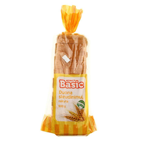 Raikyta duona skrudinimui RIMI BASIC, 500 g