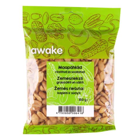Zemesrieksti Awake grauzdēti sālīti 150g