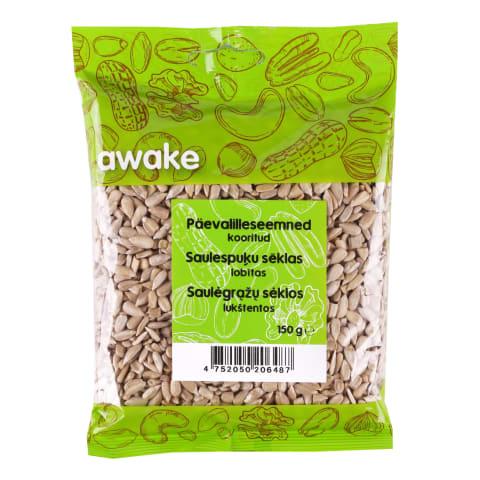 Päevalilleseemned kooritud Awake 150g