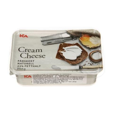 Kreminis sūris ICA, 200g