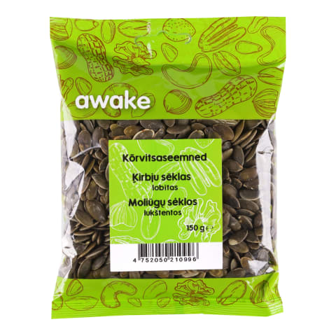 Kõrvitsaseemned Awake, 150g