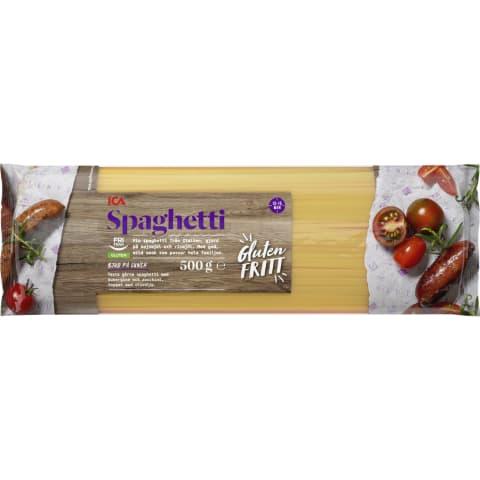 Makaroni ICA Spaghetti bez lipekļa 500g