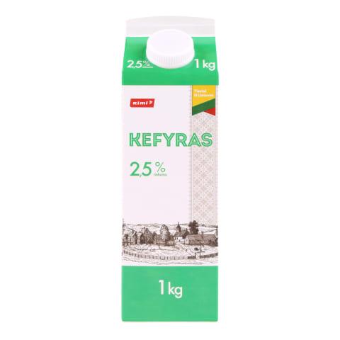 Kefyras RIMI, 2,5 % rieb., 1 kg