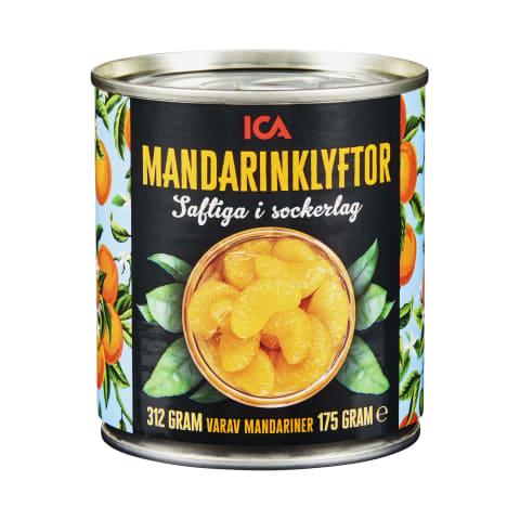 Mandarīni ICA 312g/175g