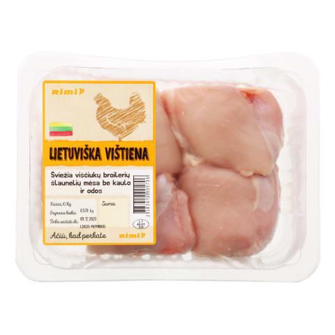 Viščiukų broilerių šlaunelių mėsa RIMI, 1 kg