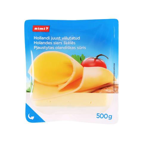 Olandiškas pjaustytas sūris RIMI, 45%, 500g