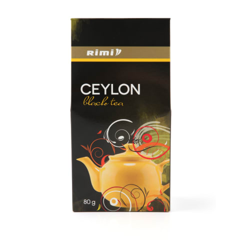 Juodoji Ceilono arbata RIMI, 80g