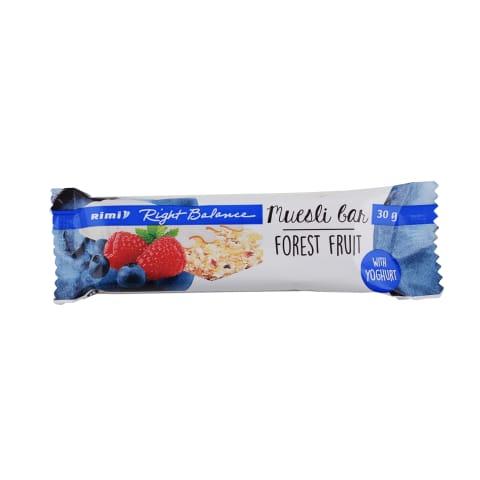 Batonėlis mišk.uog.jogurt.glaist., RIMI, 30g