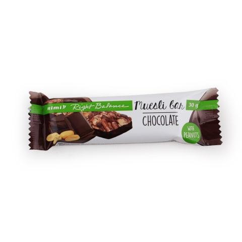 Musli batoniņš Rimi šokolādes 30g