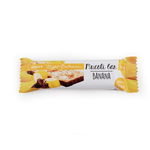 Müslibatoon banaani piimašokololaadi Rimi 30g