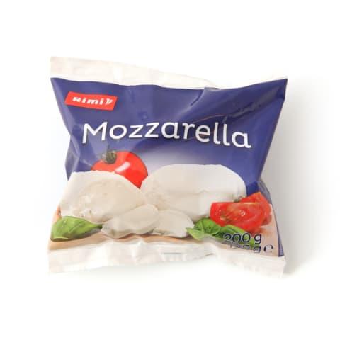 Sūris RIMI MOZZARELLA, 45% rieb., 125g