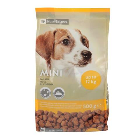 Saus.šunų ėdal.NUTRIBALANCE MINI, 0,5kg