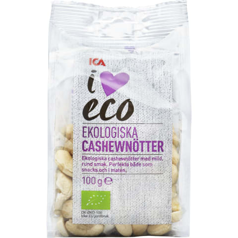 Mahe India pähklid I Love Eco 100g
