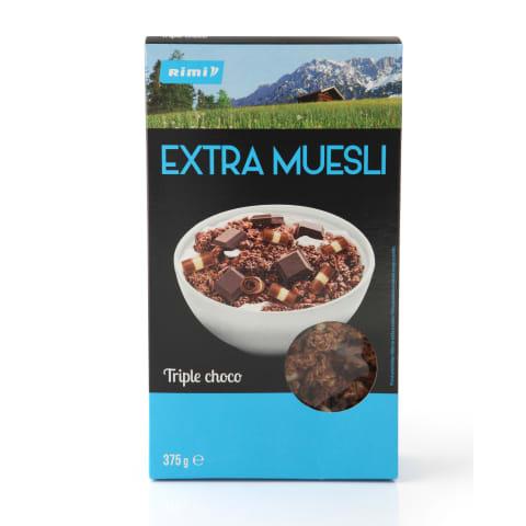 Musli Rimi Extra Triple Choco 375g