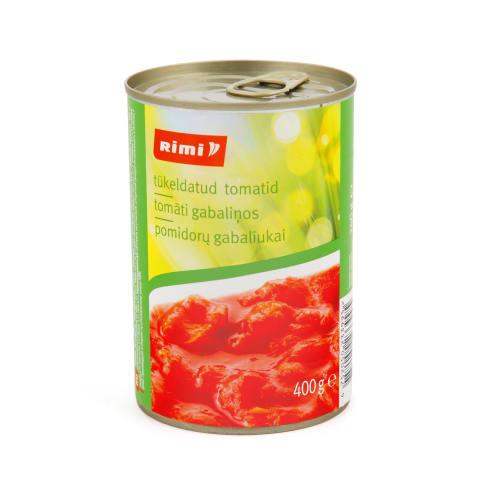 Tomatid tükeldatud Rimi 400g