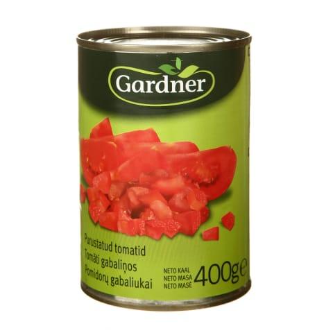 Pomidorų gabaliukai, Gardner, 400g