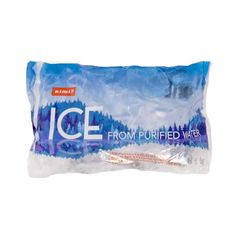 Ledas iš išgryninto vandens RIMI, 1kg
